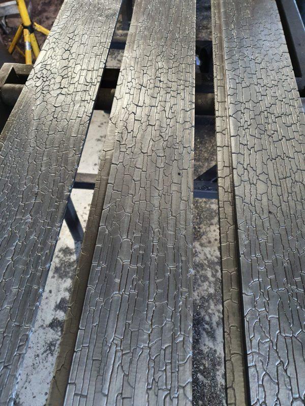 Shou sugi ban accoya wood