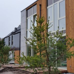 Charred wood siding benefits