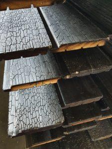 Yakisugi wood