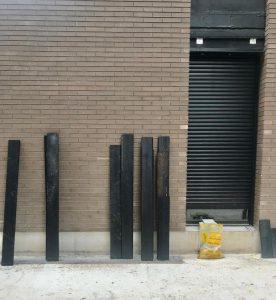 Durable charred wood planks