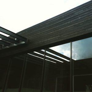 Horizontal siding - Shou Sugi Ban
