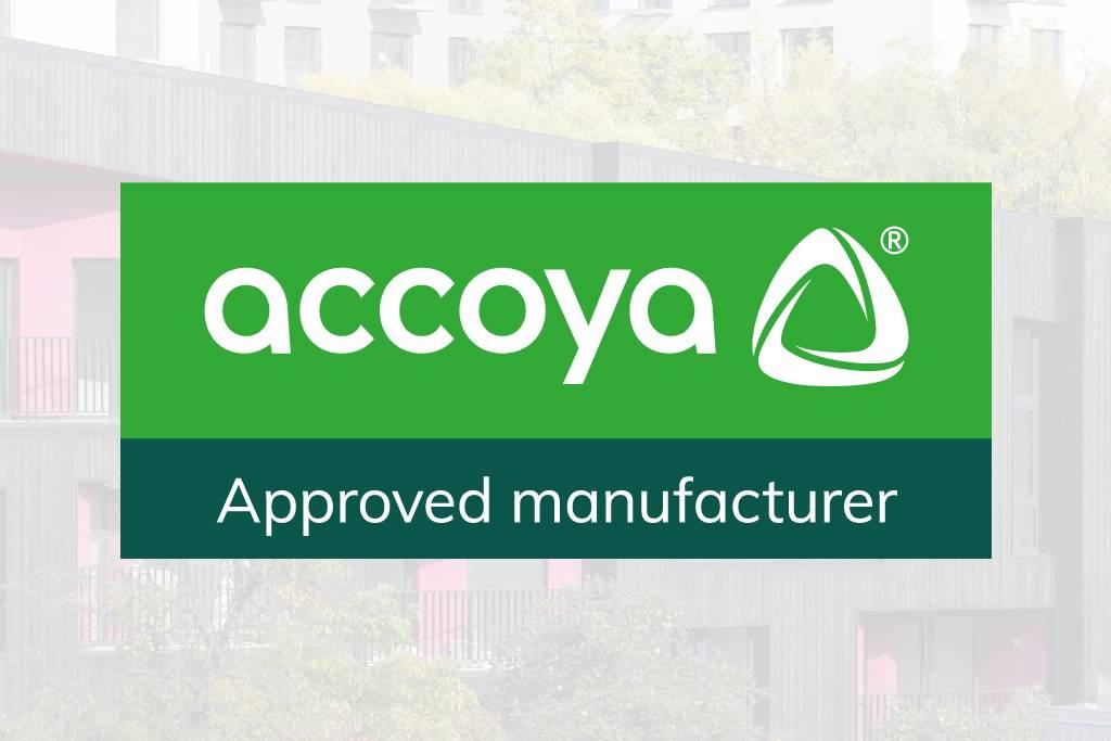 Accoya - approved manufacturer logo